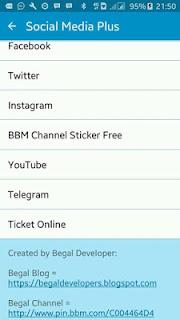 Download BBM Versi 3.0.1.25 + 8 SOSMED IN 1 MOD APK Terbaru 2016