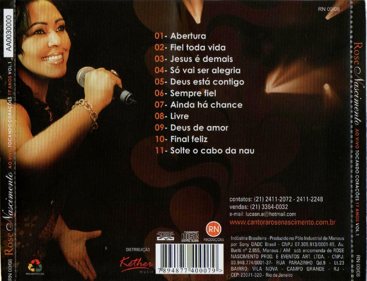 ROSE PLAYBACK SEMPRE NASCIMENTO FIEL BAIXAR CD DE O