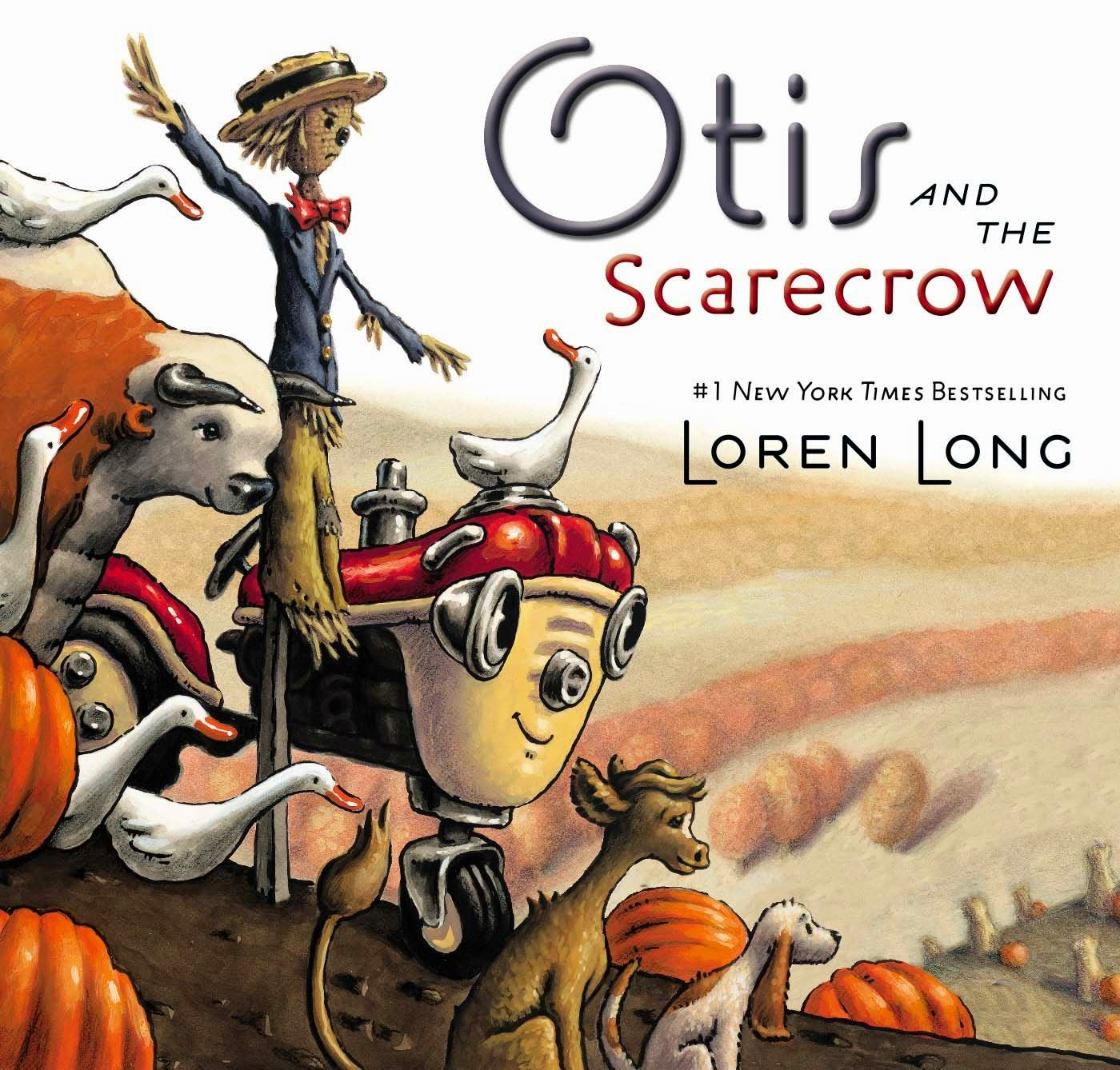 Otis and the Scarecrow, part of children's book review list about fall