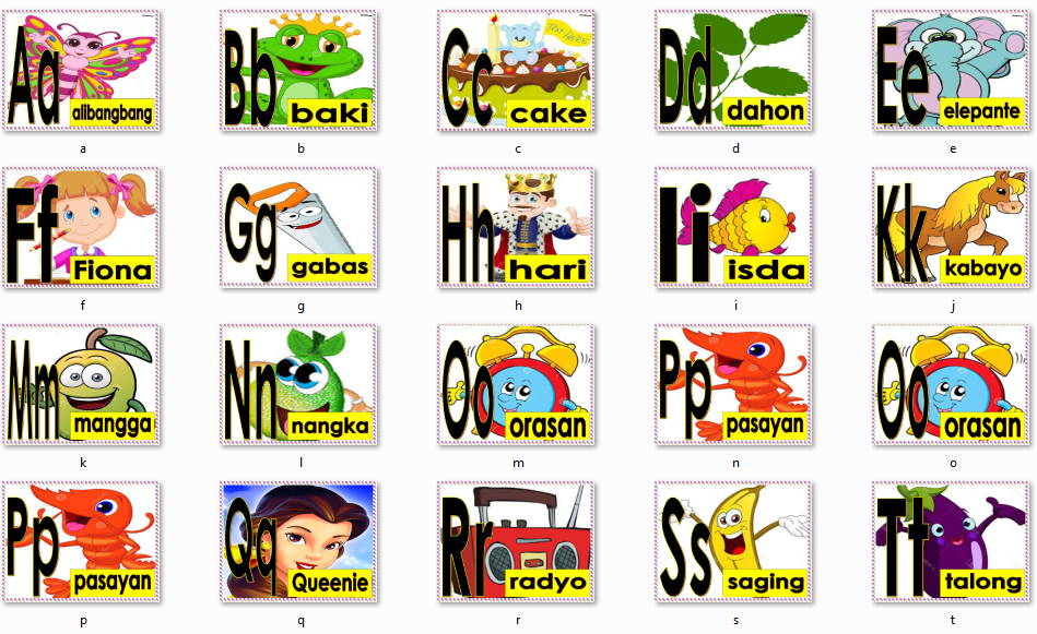 Bisaya Words That Starts With Letter G