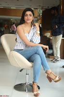 Avantika Mishra in One Shoulder Crop Top and Denim Jeggings ~  Exclusive 041.JPG