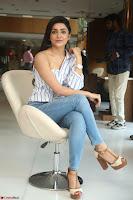 Avantika Mishra in One Shoulder Crop Top and Denim Jeggings ~  Exclusive 041.JPG