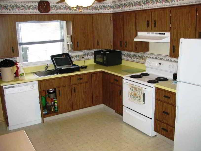 Desain Dapur Bentuk L