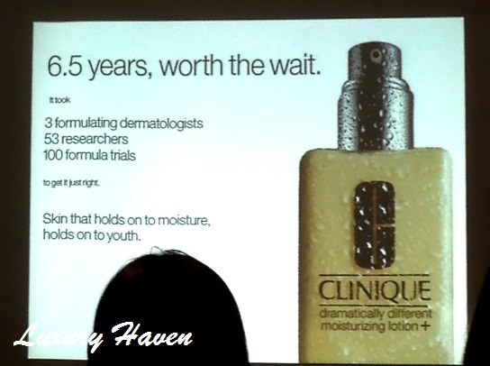 clinique dramatically different bloggers lunch event