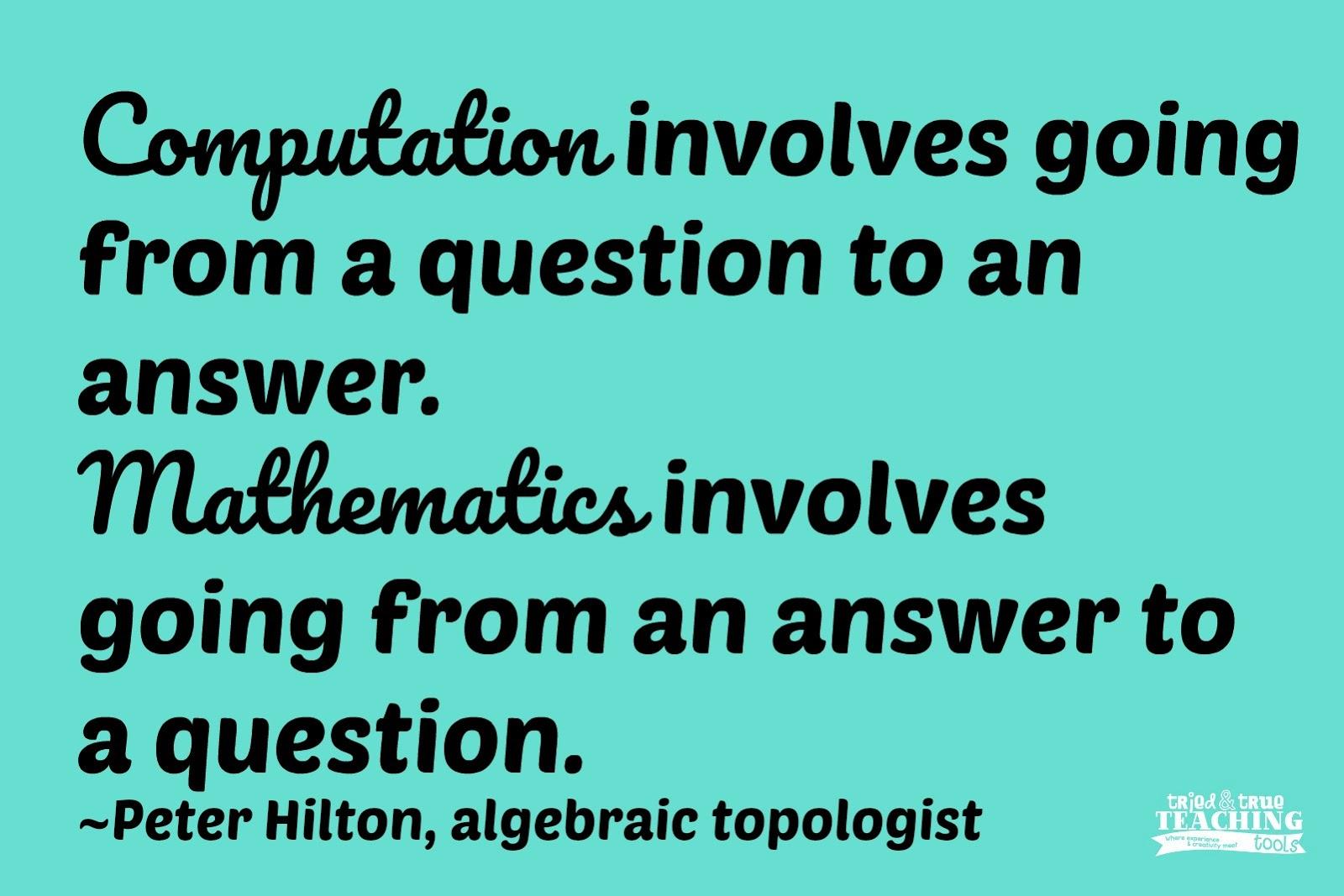 Becoming the Math Teacher Book Study, Part 3 | <!--Can\'t find ...