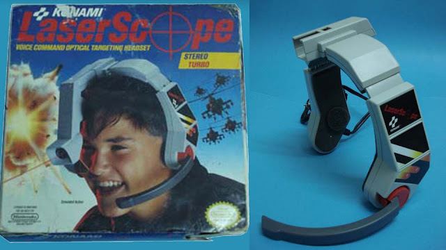 Laser Scope de Konami