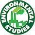 ENVIRONMENT STUDY-CHE110