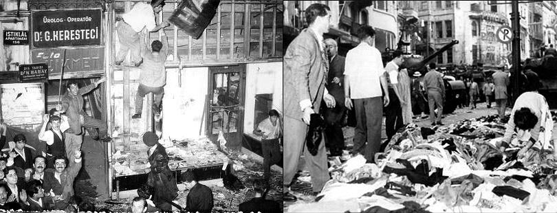 Σεπτεμβριανά - Το Τουρκικό Πογκρόμ Κατά των Ελλήνων το 1955 - 1