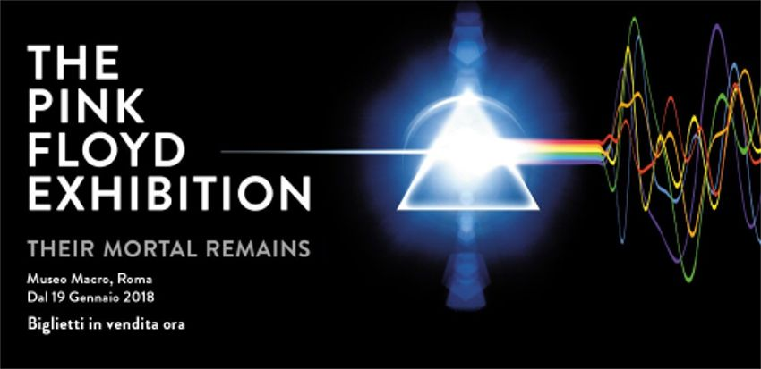 The Pink Floyd Exhibition: Their Mortal Remains, a Roma fino a luglio