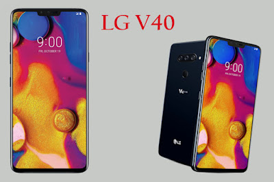 Review Lg V40 Thinq, a top player late