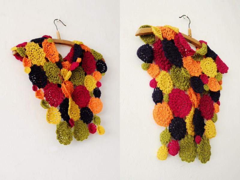 Inspiracion Cuello de Flores Multicolor