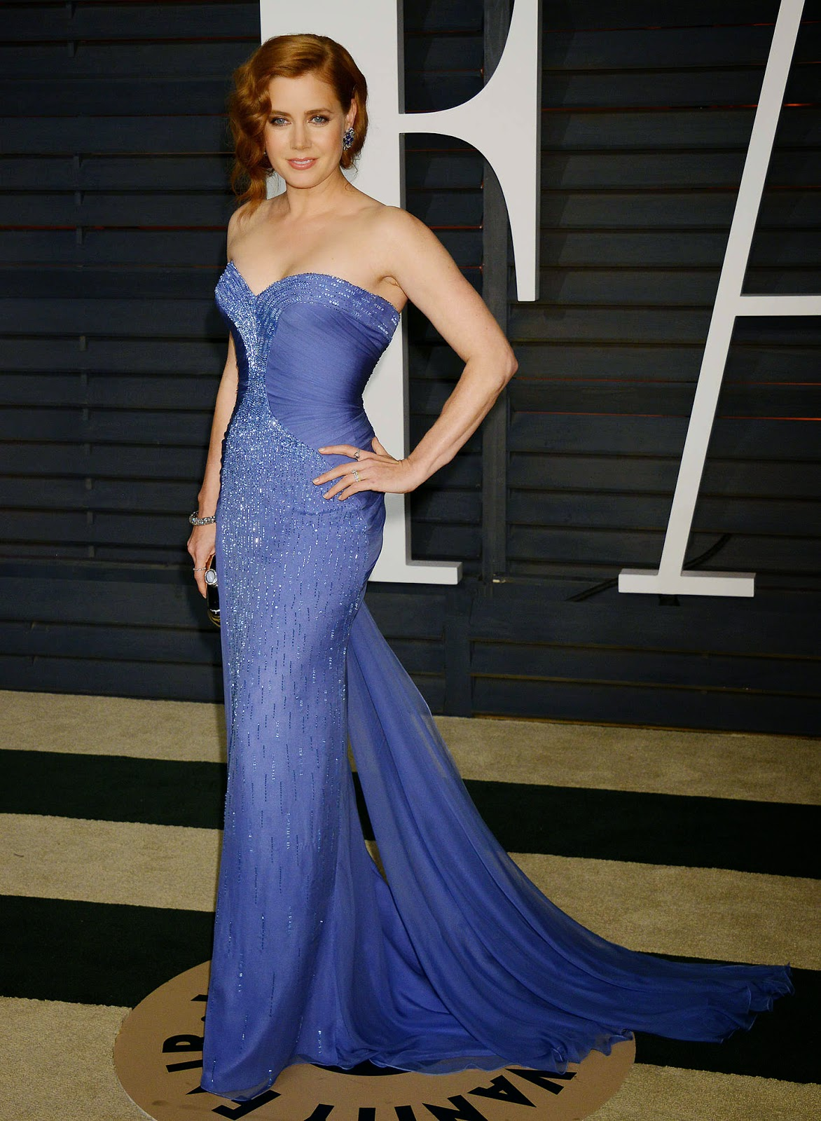 Amy Adams – 2015 Vanity Fair Oscar Party in Hollywood