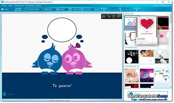 Ashampoo Photo Card Español Diseño de Tarjetas de Felicitaciones
