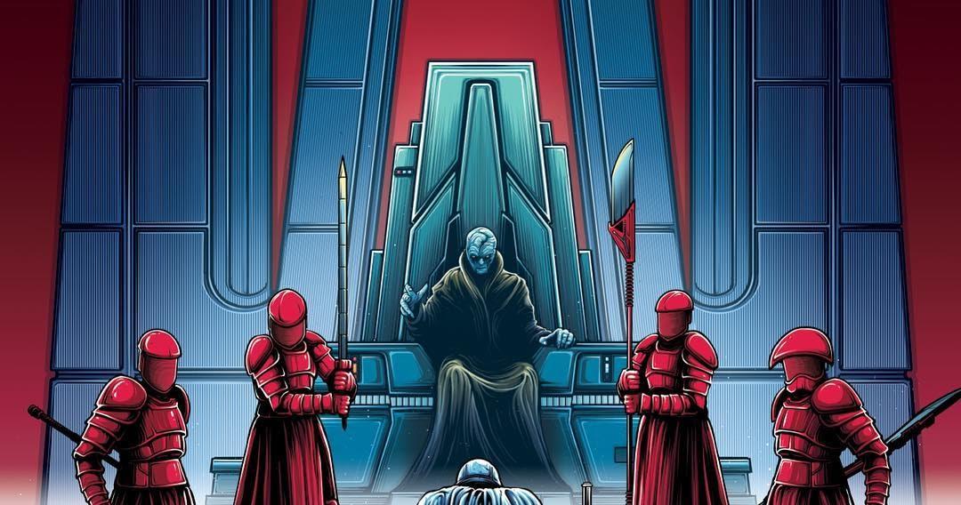 Star Wars The Last Jedi AMC Theaters IMAX Print 4 By Dan Mumford