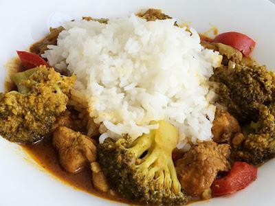 Indyjskie danie z curry