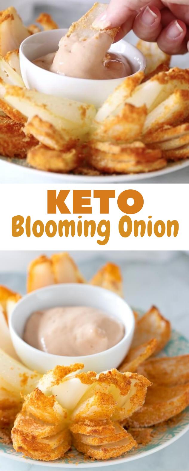 Keto Blooming Onion #lowcarb #ketogenic