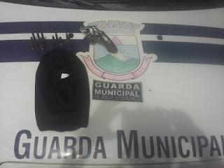 Guarda Municipal de Belo Horizonte (MG) detém marginal com arma de fogo e munições no Barreiro