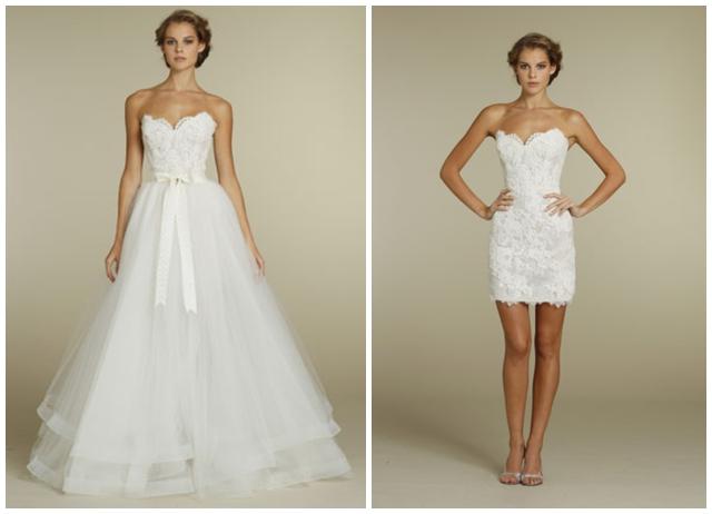 2 in 1 Menyasszonyi ruha  3192cfc8c9