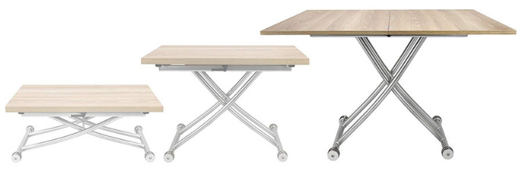modern transforming tables for small spaces
