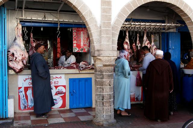 Carnicería en Essaouira