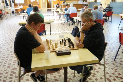 Eric Blanchard sur la liste de Philippe Dornbusch pour l'élection FFE 2016 - Photo © Chess & Strategy
