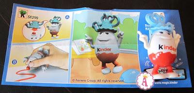 Игрушка мальчик Kinderino с карандашом на голове