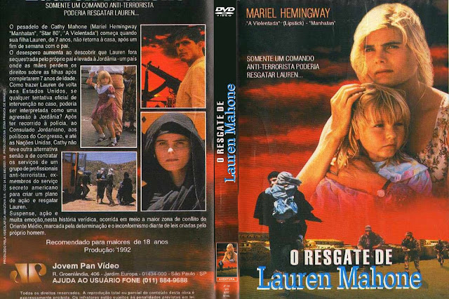 Capa DVD O Resgate De Lauren Mahone