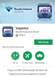 Declarar Valores Receita Brasil