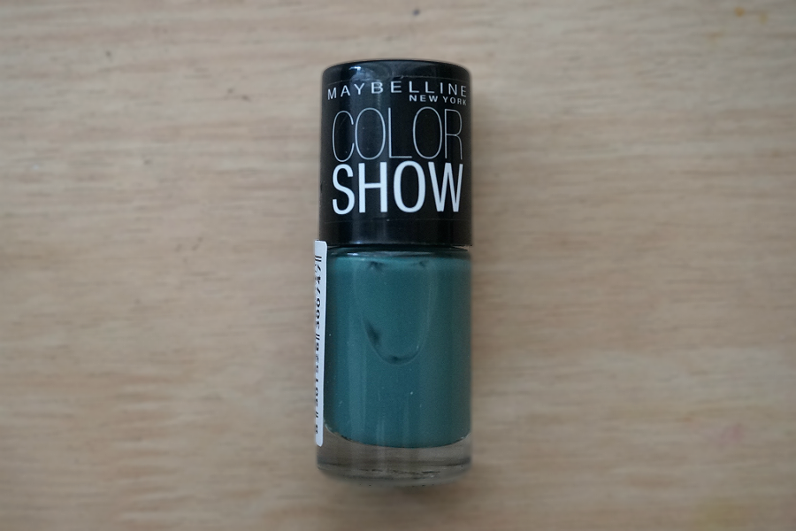 Maybelline  Color Show Nail Polish in Fantasea Green
