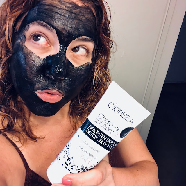 ClariSEA, ClariSEA Charcoal Solutions Brighten Exfoliate Detox Jelly Mask, Palm BFFs, Palm Picks, influencer collaboration, sponsored, skincare, skin care, face mask