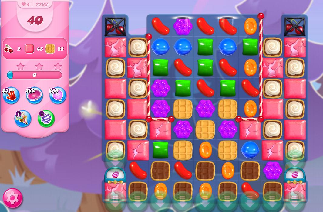 Candy Crush Saga level 7732