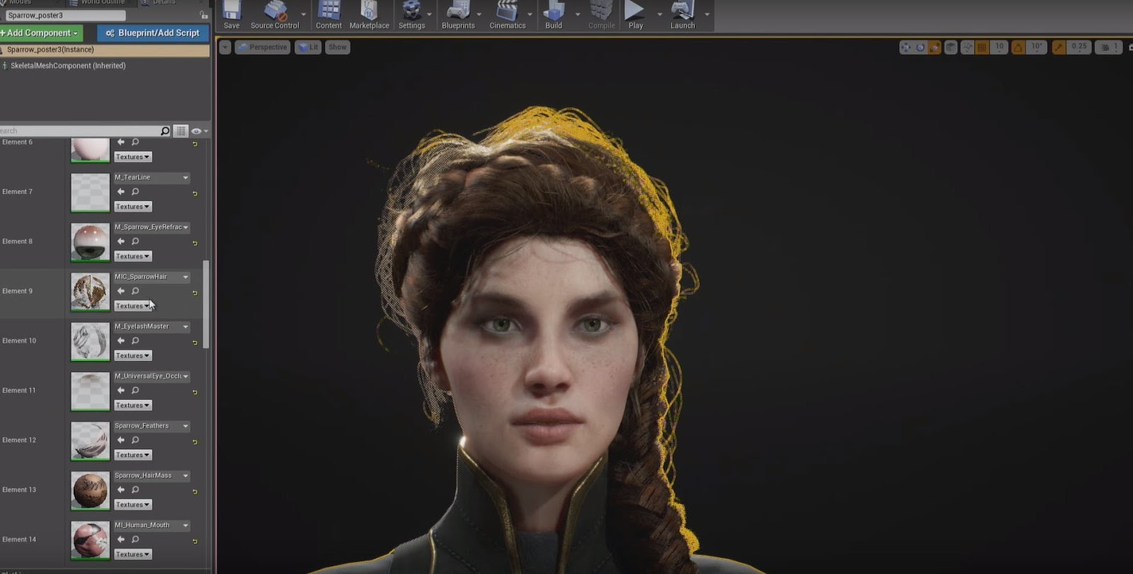 Paragon's Characters in Unreal Engine   Computer Graphics