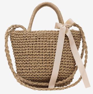 handbag, bag, straw, torba za plažu, torba, beach bag, cute, slatko, stajling, style, fashion, moda,