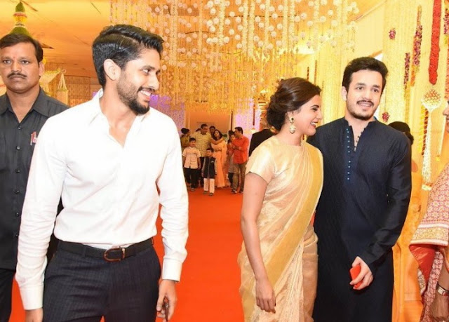 chitanya,Ahil,samantha at Nimmagadda swathi wedding photos
