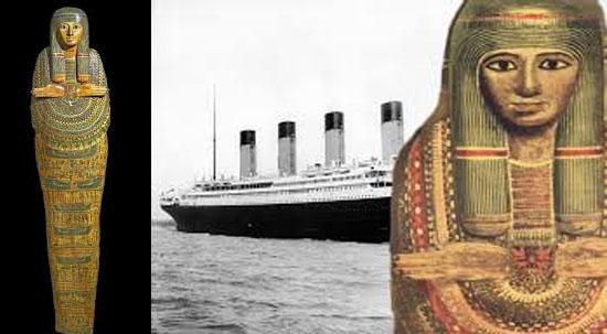 Múmia má sorte do Titanic