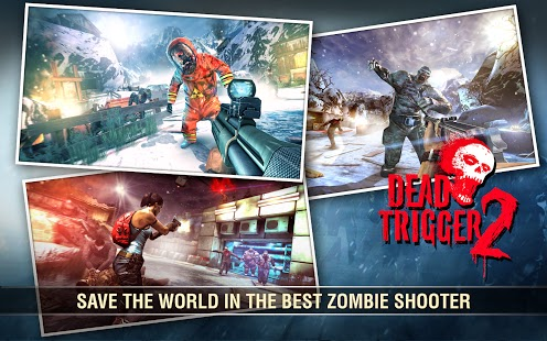 Dead Trigger 2 - Game android HD-Grafik terbaik 2017