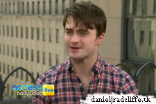 Daniel Radcliffe on Access Hollywood