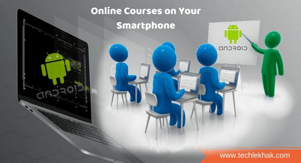 Android Smartphone Par Online Courses Shuru Kaise Kare