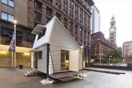 200万住宅Blog: 簡易住宅は、建築時間で決まる。(恒久住宅的にも素敵)