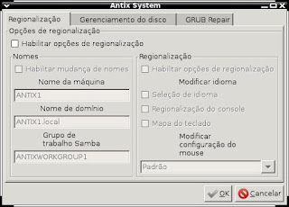 Configurando Antix Berta Carceres após upgrade