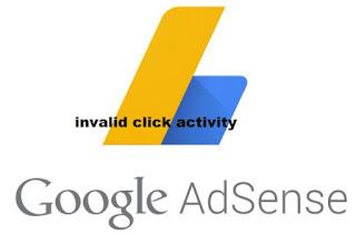 Cara Mengetahui Invalid Click Activity Adsense dengan Mudah