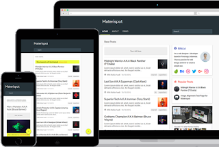 materispot v 2.0 blogger template free