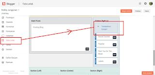 cara memasang widget facebook di blog