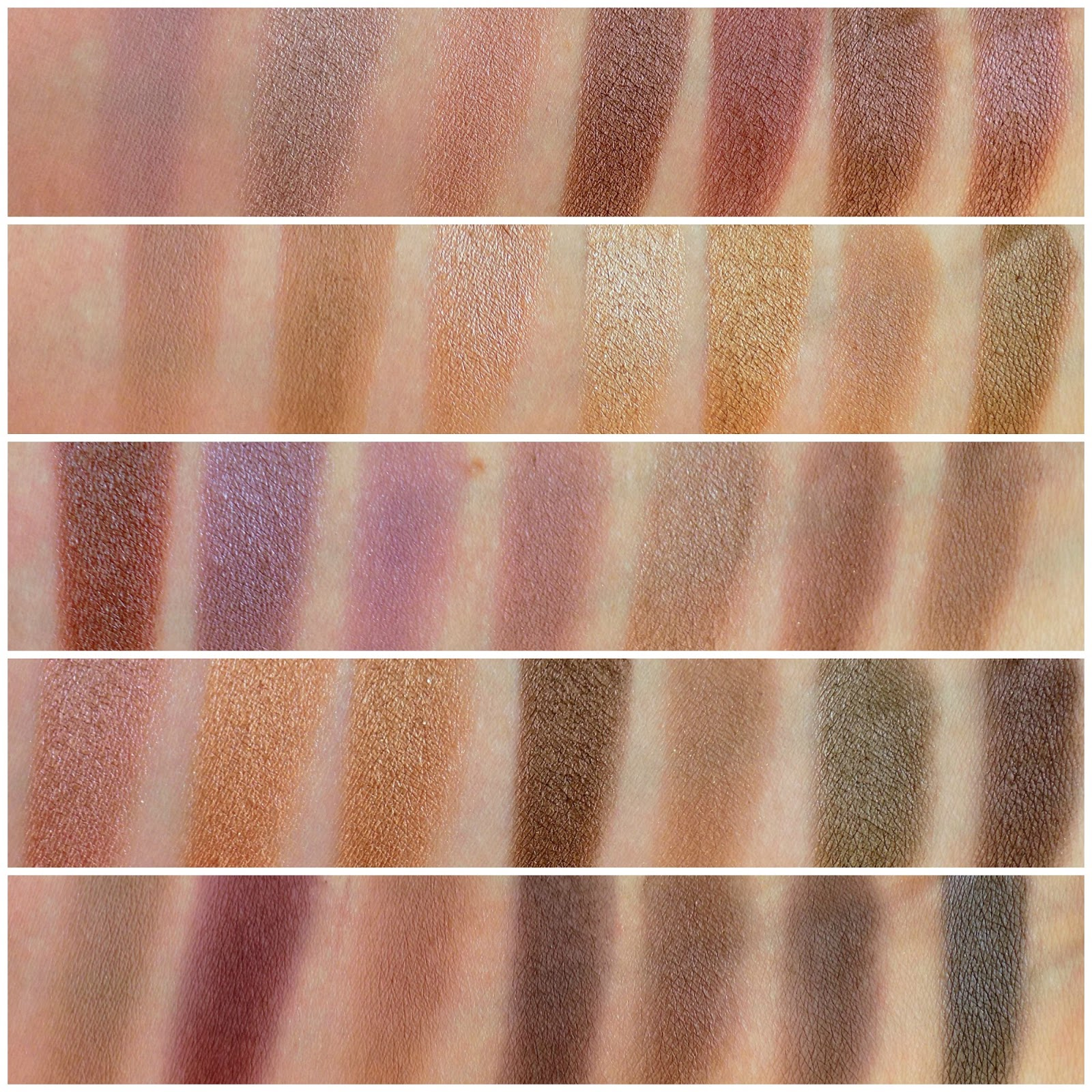 Morphe Brushes 35T palette swatches
