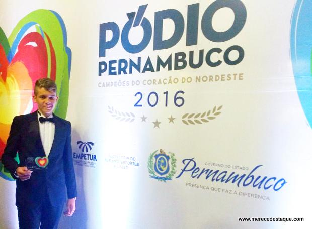 Mattheus Henning foi o melhor do ciclismo pernambucano no II Pódio Pernambuco