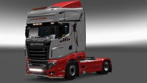 Elfa Skin for Scania R700