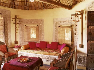 Art and interior special series ancient beds and - Wall sculptures for living room india ...