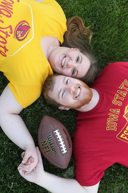 iowa state engagement pictures