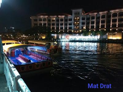Tempat Menarik di Melaka River Cruise