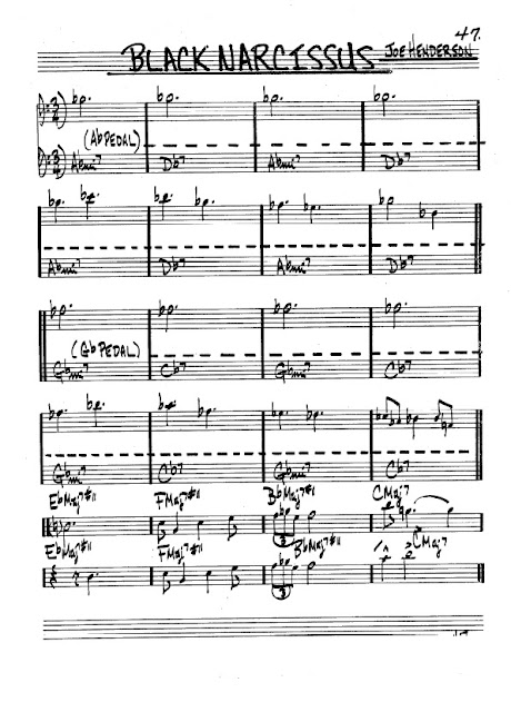 Partitura Trombón Joe Henderson